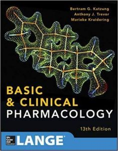 basic and clinical pharmacology 13th edition